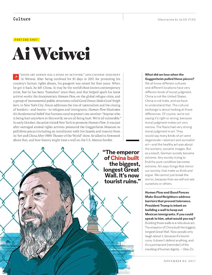 Newsweek – Capture d'écran