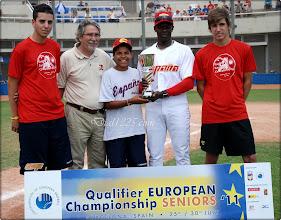 Photo: España, primer clasificado del Campeonato