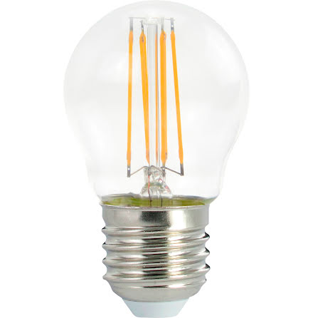 Filament LED klot E27 4W dim