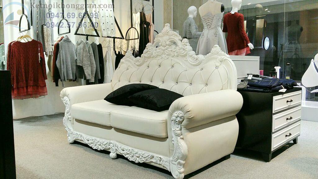 thiết kế shop thời trang cao cấp, thi công shop thời trang ấn tượng