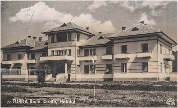 Photo: Hotel - a doua jumatate a sec. XX sursa: http://omeka.bjc.ro/omeka/items/show/246  imagini vechi https://imaginivechi.files.wordpress.com/2010/06/251-baile-sarate-hotel1943.jpg
