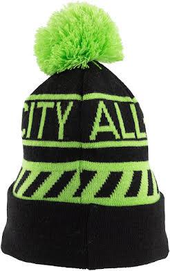 All-City Sleddin' Hat: Black/Lime Green alternate image 0