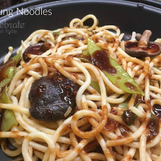 Cooking With Mr. Wong's Sauces. Ja Jeung Noodles