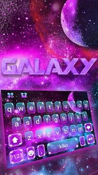 fantasy galaxy keyboard theme by fashion keyboard for android 2018