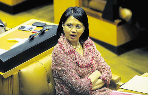 Agriculture, Forestry and Fisheries minister Tina Joemat-Pettersson. File photo.
