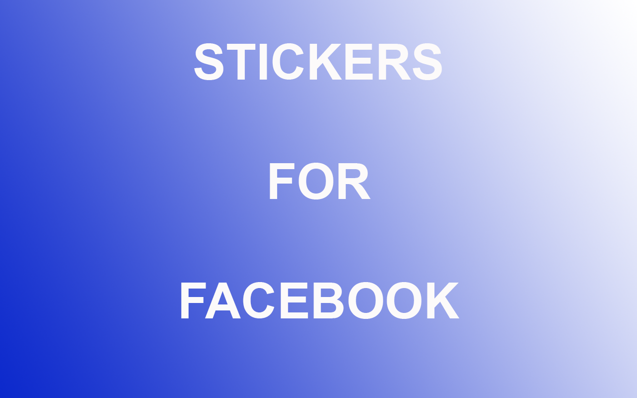 Stickers For Facebook Android Apps On Google Play - Facebook window stickers for business uk