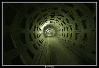 Photo: Geboorde tunnelkoker