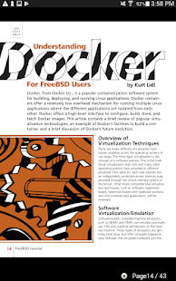 FreeBSD Journal- screenshot thumbnail