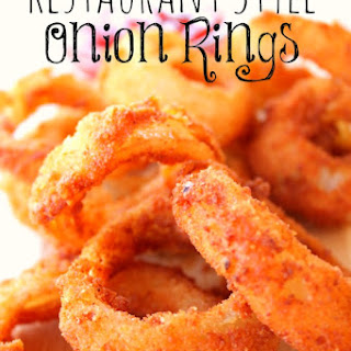 Restaurant Style Onion Rings