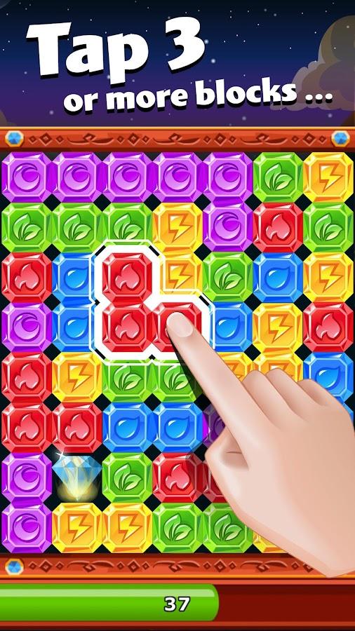 Screenshots of Diamond Dash: Blast the Blocks for iPhone