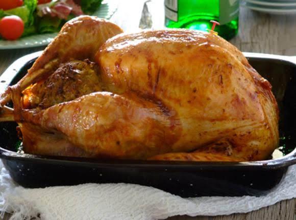 Grandma Johnson's Thnksgvng Turkey/stuffing/gravy