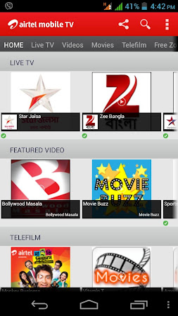Airtel Mobile TV (Bangladesh) 5 screenshot 253574