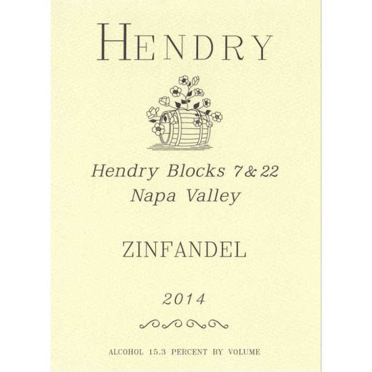 Logo for Hendry Block 7 and 22 Zinfandel