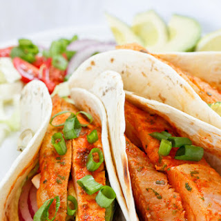 Grilled Spicy Fish Tacos.