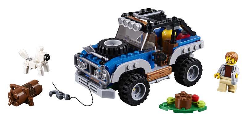Contenido de Lego® 31075 Aventuras Lejanas