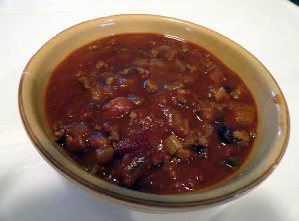 Victory Bowl Chili Recipe