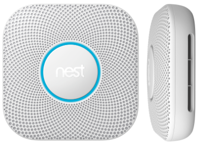 Nest protect 2nd gen plus side