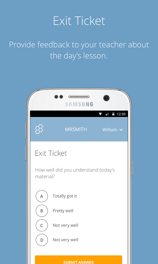 Socrative Student Android 3