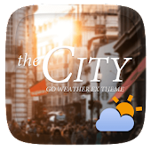City GO Weather Widget Theme