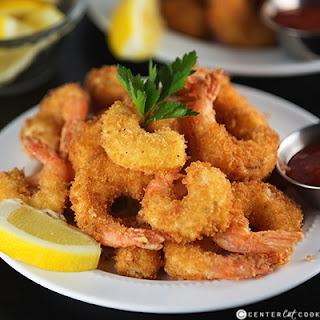 Crunchy Fried Shrimp.