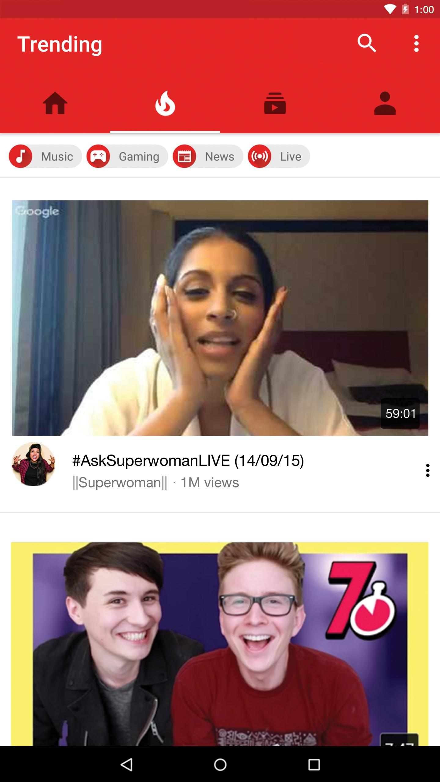 YouTube screenshot #2