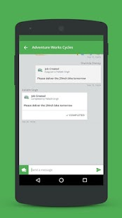 Kaizala: Get work done on chat Screenshot 6