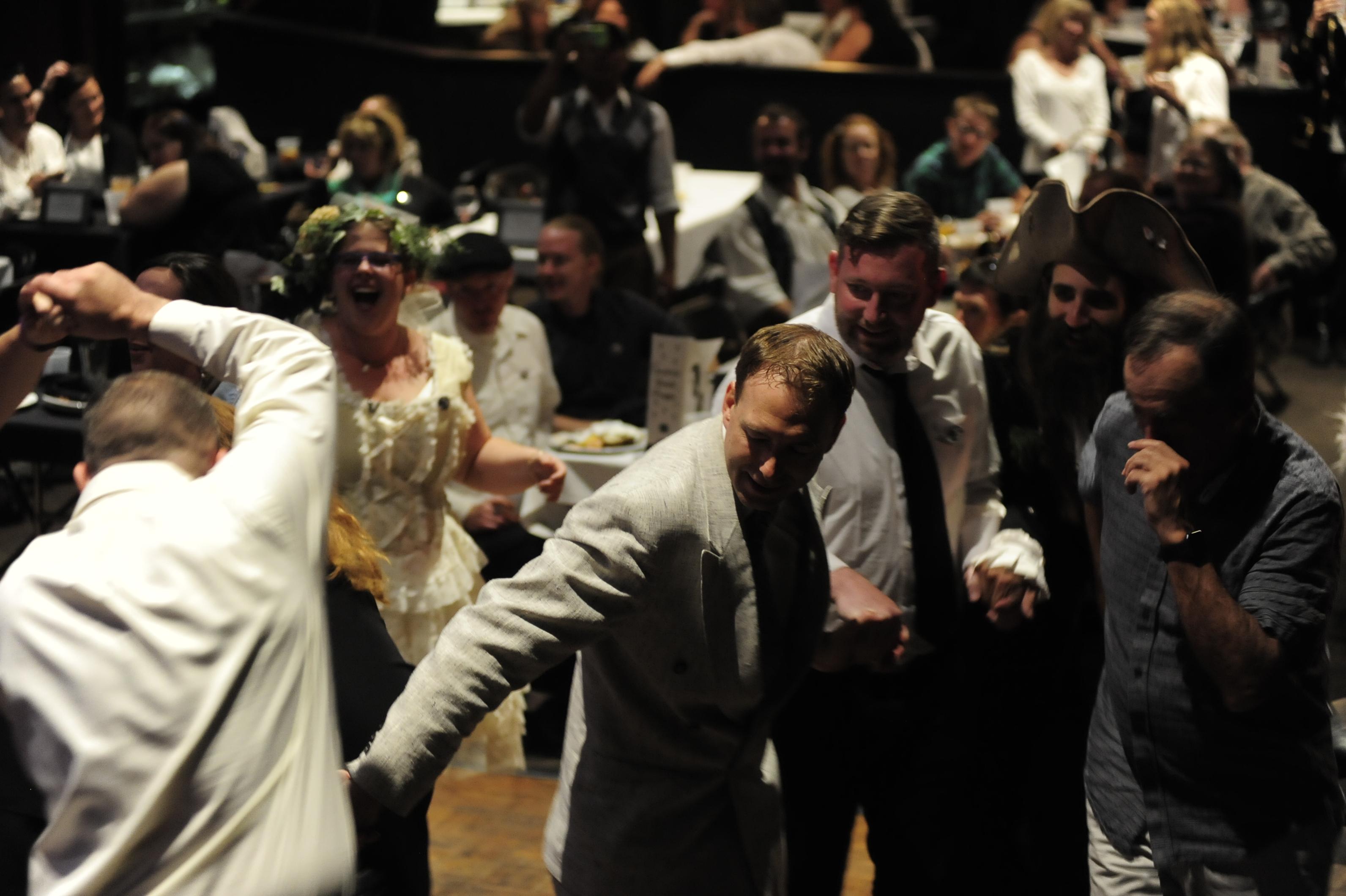 Photo: Contra dance