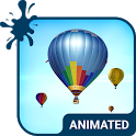 Air Balloons Animated Keyboard + Live Wallpaper icon