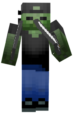 After dark side let's go from herobrine's defeated zombie went to go find his own battles and now he's known as zombie the giant killer