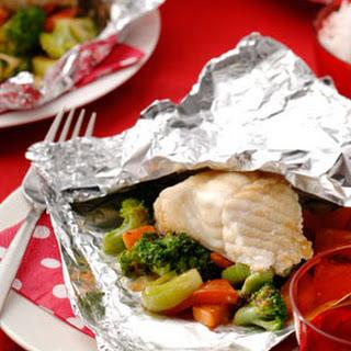 Pakketje van Sajoer Groenten met kabeljauw en wokgroenten
