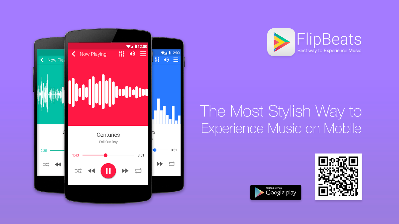 FlipBeats - Best Music Player- screenshot