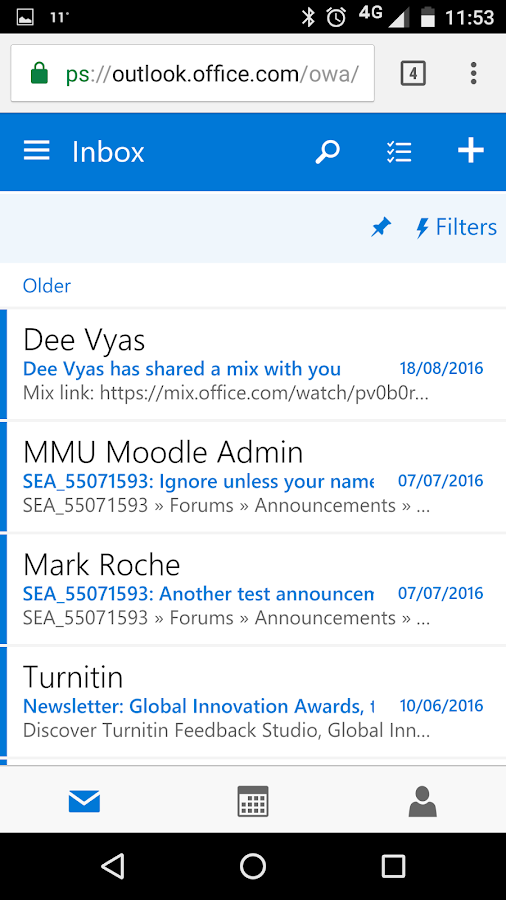 MyMMU - Mobile- screenshot