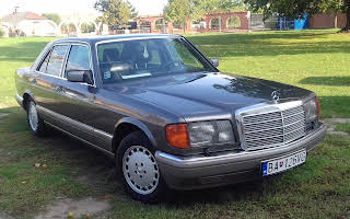 Mercedes-Benz W126 500se S-klasse Rent Bratislava