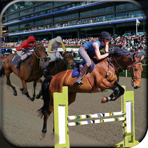 Horse Run Race And Jump