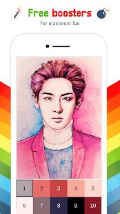 Exo Color By Number - Exo Kpop Idol Pixel Art