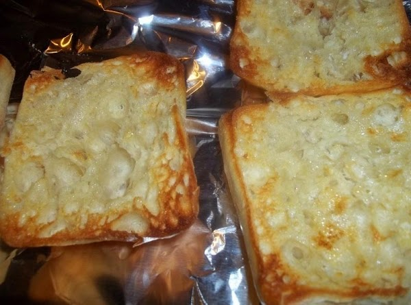 While chicken is cooking; turn on broiler. Butter both sides of Ciabatta. Place on...