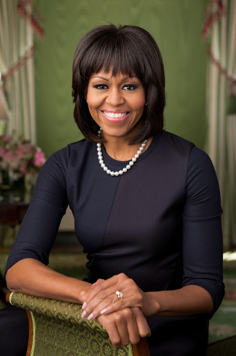 Michelle Obama White House Portrait