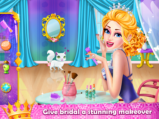 Royal Princess Wedding Makeover and Dress Up  captures d'écran 1