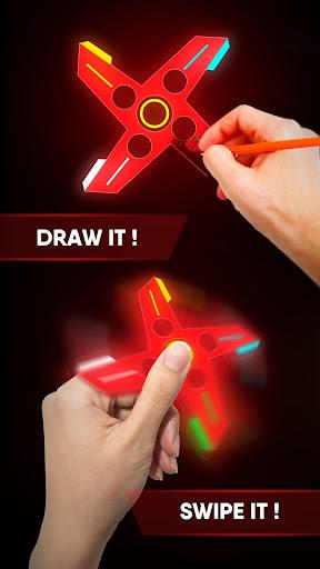 Draw Finger Spinner for PC