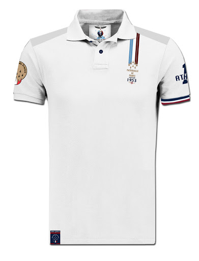 patrouille-de-rance-polo-blanc 2018-made-in-france-barnstormer