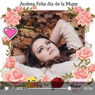 Download Women's day video maker  apk screenshot 6