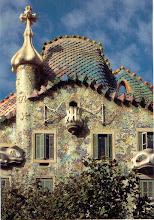 Photo: We saw lots of Gaudi's architecture on a tour around town.