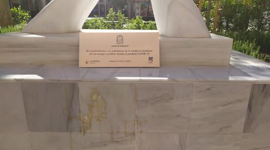 ¿Vandalismo o accidente? El aplauso de Artes de Arcos se queda sin placa