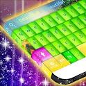 Neon Waves Keyboard icon