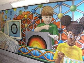 Photo: Elizabeth Way Bridge Mural (v)