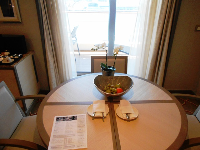 Our Silversea Silver Muse Silver Suite on check in