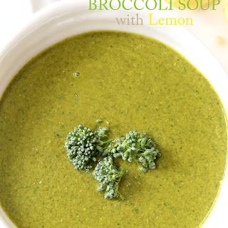 Immune Boosting Broccoli Soup.
