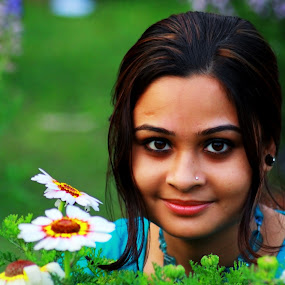 Floral by Sandip Ray - Novices Only Portraits & People