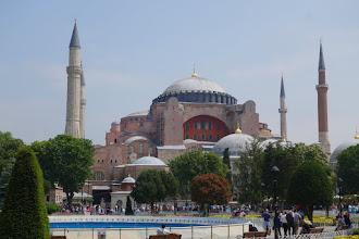 Photo: Hagia Sophia built in the 6th Century as a Christian church