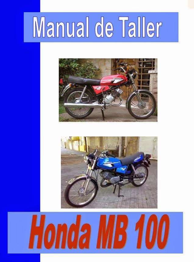 honda mb 100 manual-taller-servicio-despiece